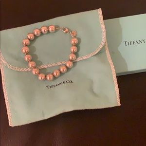Tiffany&Co Hardware Ball Bracelet Sterling Silver